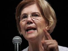 Elizabeth-Warren-pointing-Associated-Press