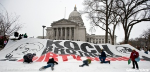 Koch Brothers Dirty Money In Wisconsin