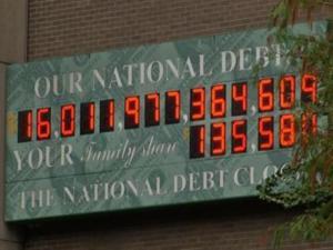 16 trillion debt