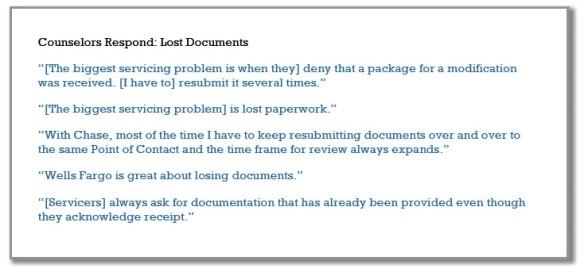 Counselors Lost docs