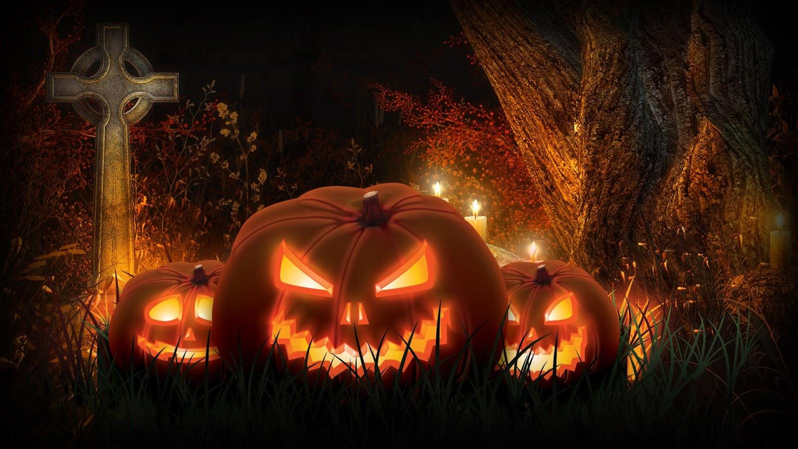 Scary Halloween Jack O'Lanterns