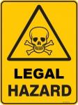 LEGAL HAZARD