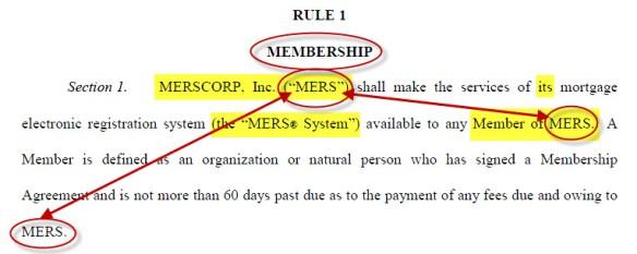 MERS Rule 1