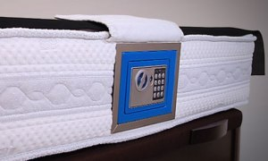 The mattress safe – the latest way to bank with confidence