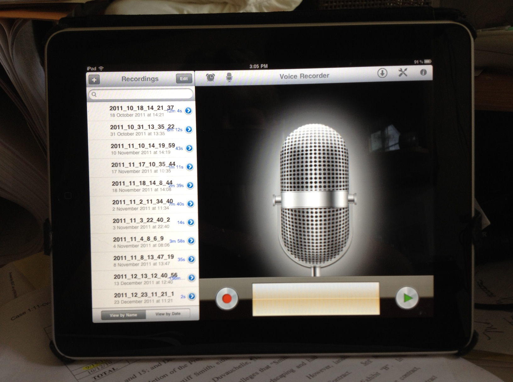 how to use ipadio to record calls