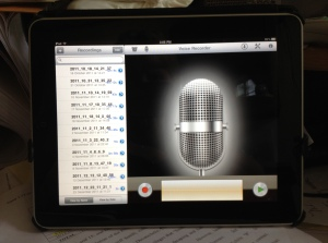 voice recorder ipad