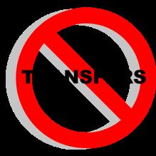 NO Transfer