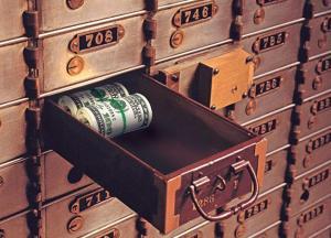 deposit box cash