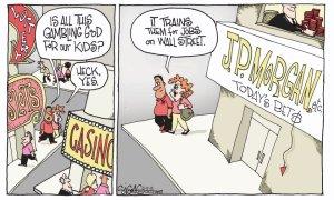 gambling Wall Street