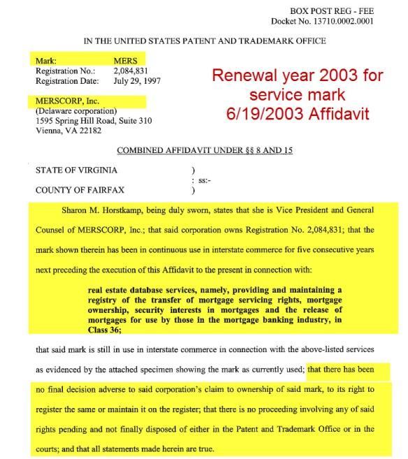 Horstkamp Affidavit6-19-2003