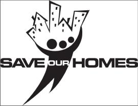 Save our Homes Walk Logo