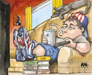 lazy american