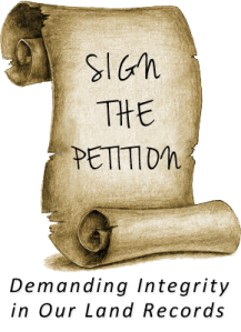 SIGN THE PETITION
