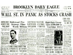 crash of 29 newspaper