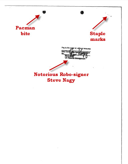 Steve Nagy stamp back of last page