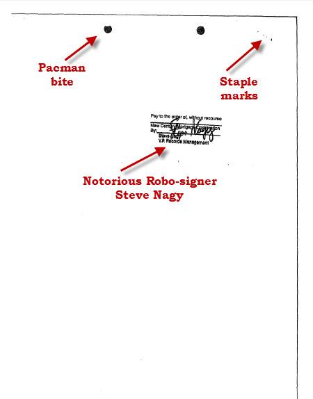 Steve Nagy stamp back of last page