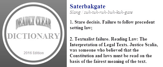 DC Dictionary Saterbakgate
