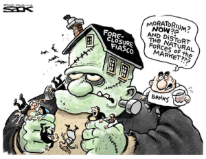 fORECLOSURE FIASCO