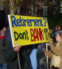 Retirement Don't Bank on it
